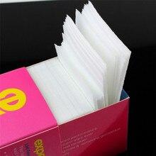 ViewS@ 325pcs Lint Free Nail Art Gel Polish Remover Cotton Pad Nail Wipe