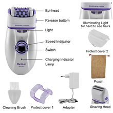 Women Shave Wool Device Electric Rechargeable 2 in 1 Knife L