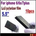 10 шт. Для iphone 6 6 s 7 7 г плюс 5.5 ''. 5 дюймов Высокое качество Plorizer фильм поляризатор для iphone 6 ремонт