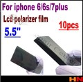 10 pcs para iphone 6 6 s 7 7g mais 5.5 ''5. 5 polegada plorizer film polarizador de alta qualidade para iphone 6 remodelação