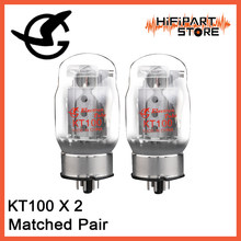 2pcs Shuguang KT100 Valve Matched Pair Tube amplifier accessories Repalce KT88,6550A-98(China)