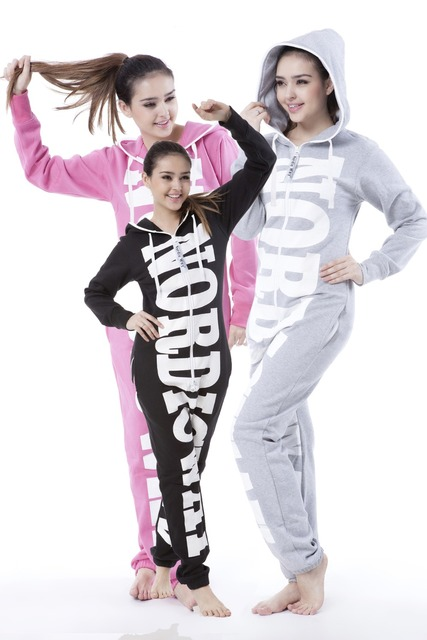 a0aac3b7 Nordic Way Onsie ALL In One Piece Jumpsuit Unisex Adult Women Men Romper