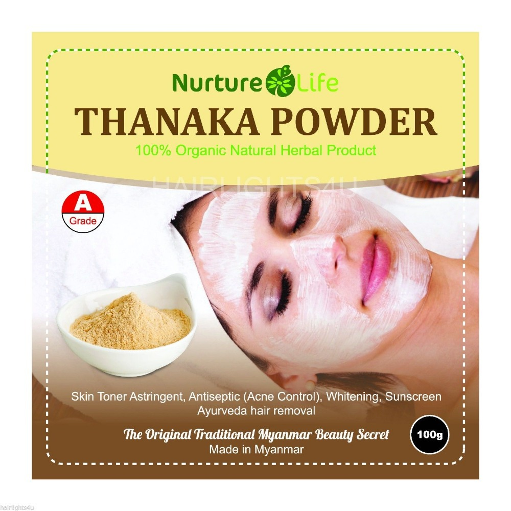 US $27 8 |100g PURE THANAKA TANAKA Powder Natural Anti Acne Aging Whitening  Hair Removal Free Shipping-in Massage & Relaxation from Beauty & Health on