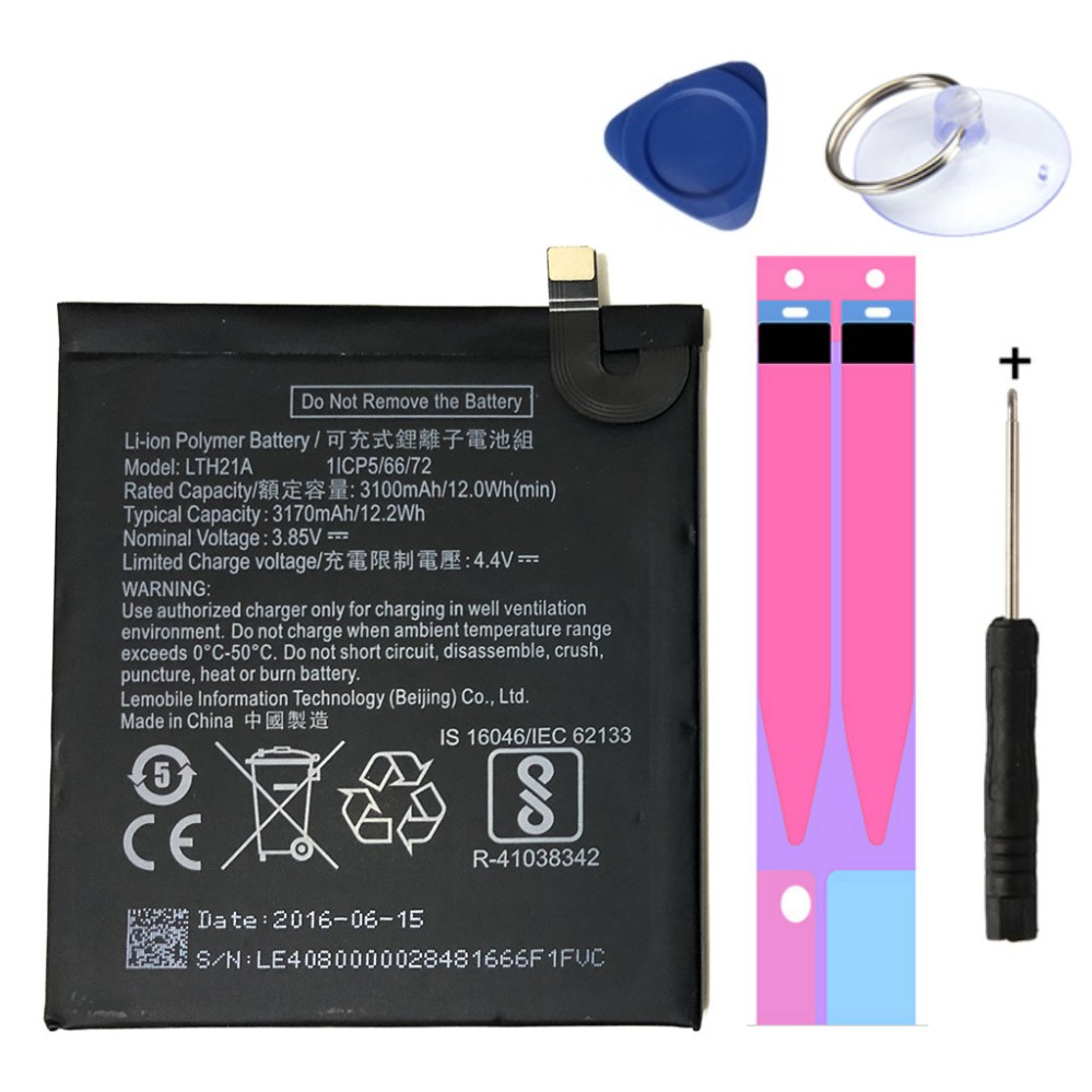 Bonne qualité LTH21A Li-ion batterie de remplacement pour LeEco Letv Le téléphone Le MAX 2/5. 7 pouces/X821 X820 téléphone portable Batteria 3170mAh
