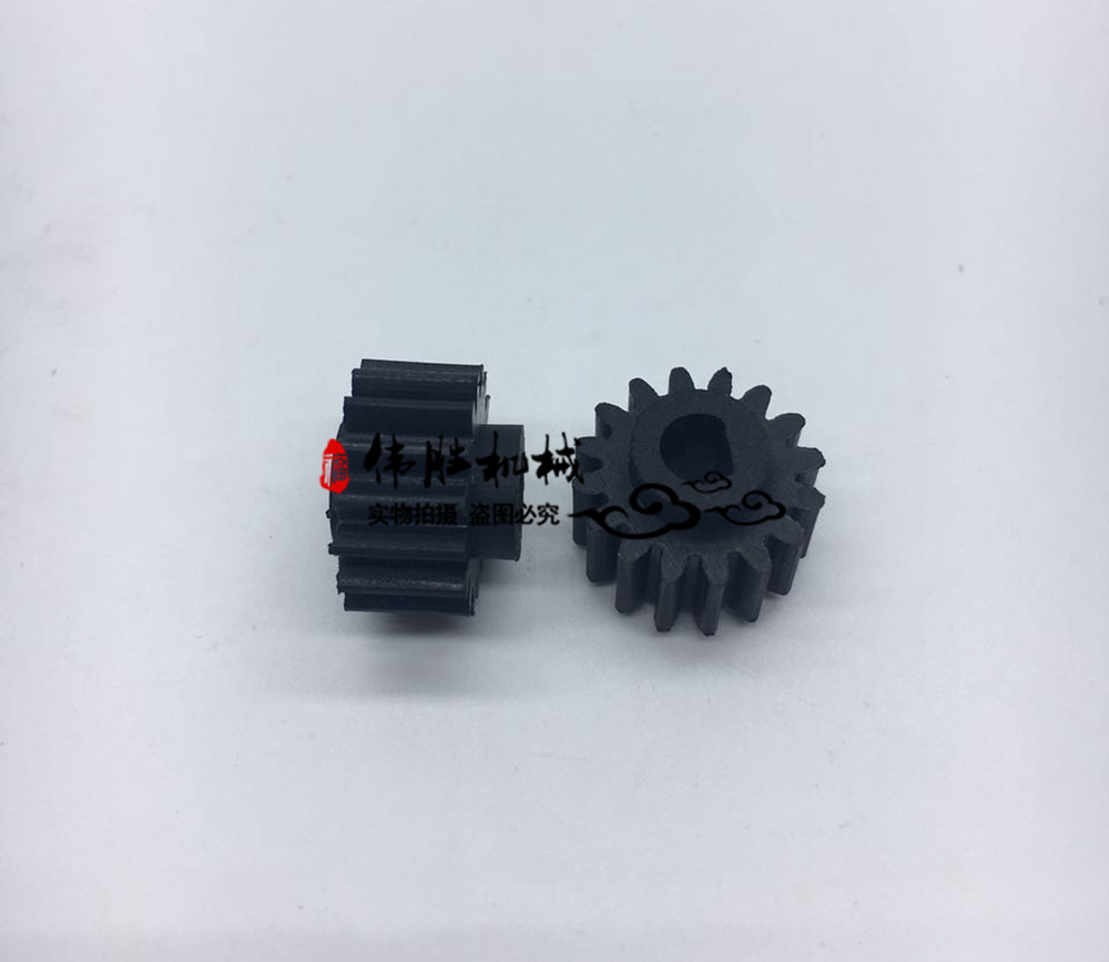 Throttle motor Small skin gear Rubber tooth for Hitachi EX120 EX200 5 6 EX220 excavator parts