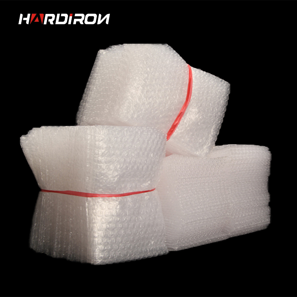 0.06mm Wrap Envelopes Bags White Plastic Bubble Pouches Ldpe Packing Material