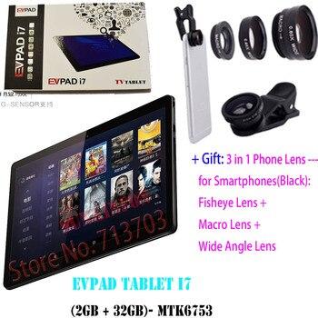 EVPAD Tablet i7 2GB 32GB Smart Android TV Box: 2 4G/5G Dual WiFi