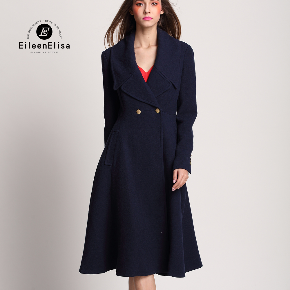 Popular Blue Cashmere Coat-Buy Cheap Blue Cashmere Coat lots from ...