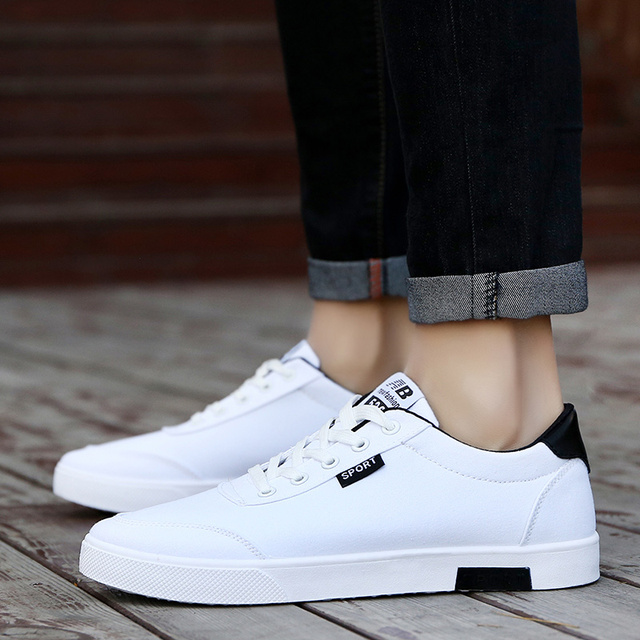 ba28aa165 Sapatas de lona homens sapatos tenis masculino adulto respirável casuais  2018 novos estudantes de moda sapatas