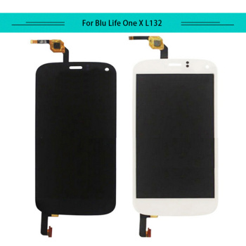 Double-U 3pcs/lot Complete For BLU Life One X L132 L133 FULL LCD Display with Touch Screen Digitizer Aseembly Free shipping
