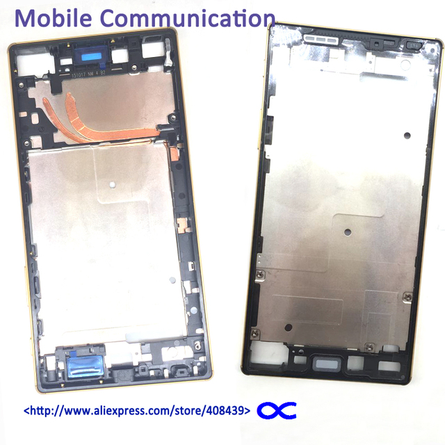 Оригинал Премиум Передняя Ближний Рамка для Sony Xperia Z5 Z5 Premium E6853 Dual E6833 E6883 Ближний Знака Рамка Рамка Корпуса крышка