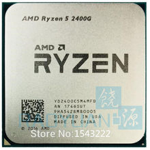 AMD Ryzen 5 2400G R5 2400G 3.6 GHz Quad-Core Quad-Thread 65W CPU Processor YD2400C5M4MFB Socket AM4(China)