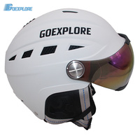 Goexplore Snowboarding Helmet Adult ABS EPS With PC Visor Integrally Light Outdoor Sport Snow Skateboarding Skiing
