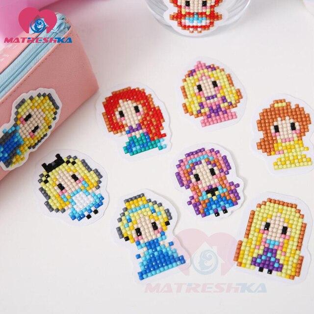 Diy Patterns Diamond Embroidery Princess 5d Diamond Painting For
