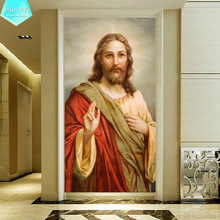 PSHINY 5D DIY Diamond embroidery Jesus Christ Religion picture Full mosaic kit rhinestone Christian diamond painting cross stich