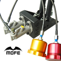 SPECIAL OFFER Lockable Dual Cylinder + Dual Handles Drift Rally Hand Brake Hydraulic Handbrake With Oil Tanks + Oil Lines
