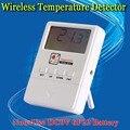 Frete grátis NOVO 433 MHZ Sem Fio detector de Temperatura display LED Para Casa PSTN GSM Sistema de Alarme 433 MHz