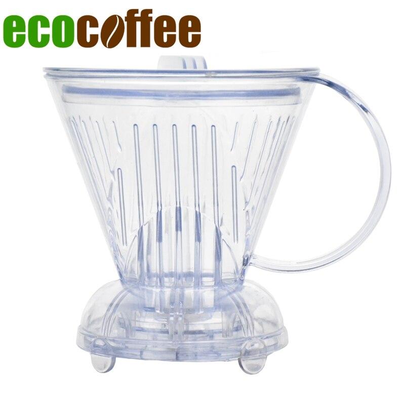 Livraison gratuite Clever tasse café goutteur pot de café de style folliculaire flâné café bol