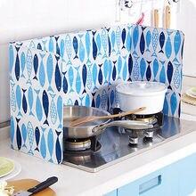 Кухонная плита кухня смазка масло всплеск перегородка экран против брызг защита анти-масло панелью шоры