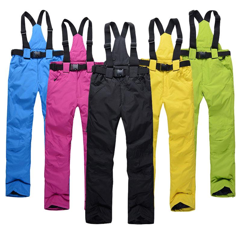 נשים סקי מכנסיים מותגים חדש בחוץ ספורט איכות גבוהה תליונים מכנסיים גברים עמיד למים חם חם חורף שלג Snowboard
