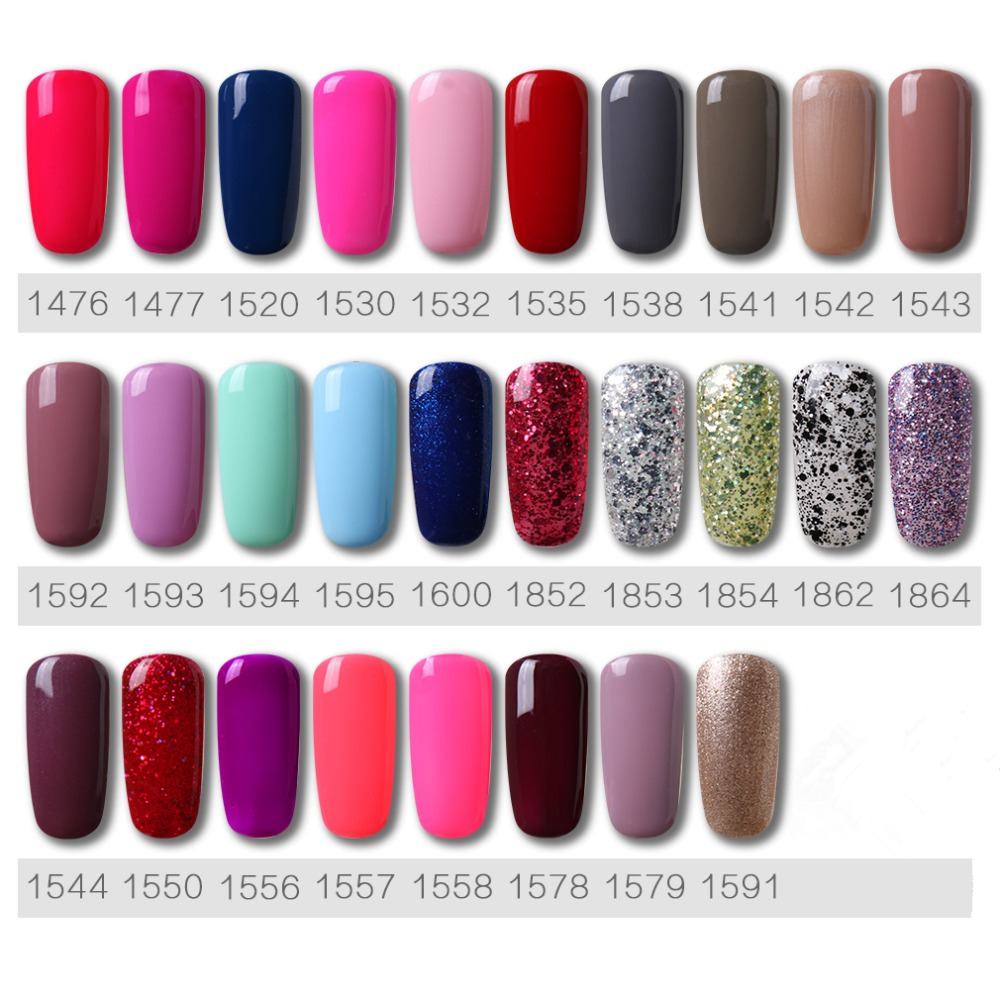 Image 5 - HNM 58pcs/lot Set Tools Gel Varnish Nail Polish Long Lasting Gel Nail Kit Soak Off Lak Vernis Semi Permanent Set for Manicure-in Sets & Kits from Beauty & Health