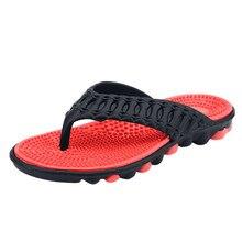 ONTO-MATO мужские тапочки высокого качества, большие размеры 40-45, модные летние мужские вьетнамки, уличная Мягкая Повседневная обувь для мужчин