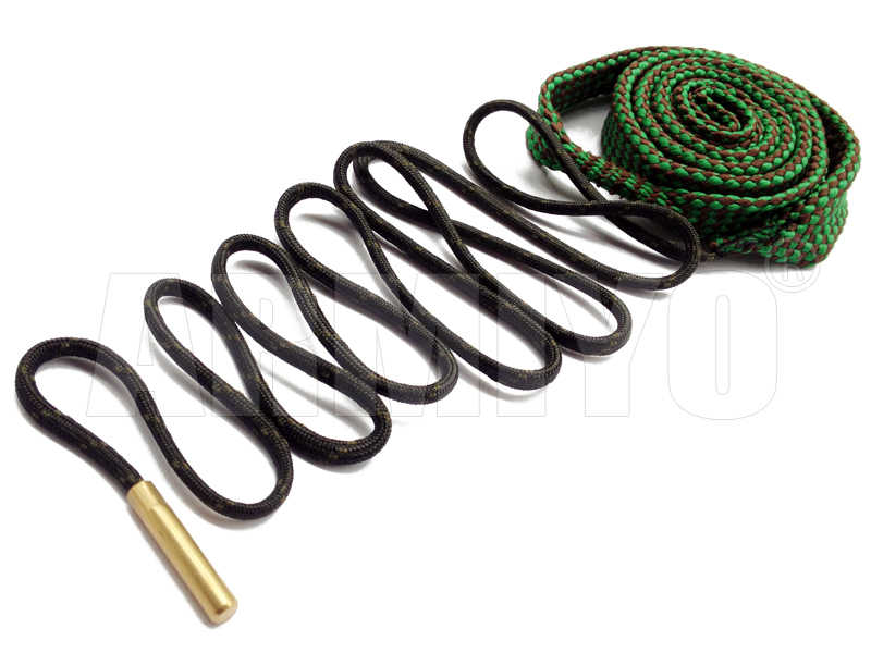 Armiyo Boring Snake 5.56mm. 22 Kaliber Gun Bore Cleaner Bronzen Borstel Barrel Cleaning Sling 24011 Jacht Accessoires m4