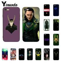 Yinuoda Marvel Hero Loki colorful cute TPU Soft Silicone Phone Case Cover for iPhone 6S 6plus 7 7plus 8 8Plus X Xs MAX 5 5S XR(China)
