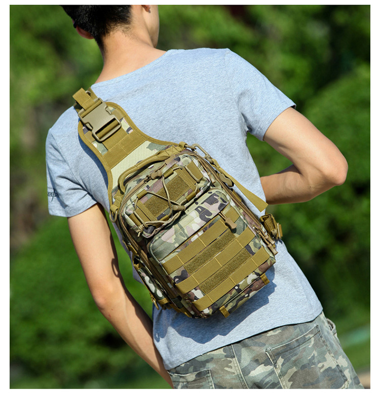 600D Outdoor Sports Bag Shoulder Military Camping Hiking Bag Tactical Backpack Utility Camping Travel Hiking First Aid Kits Bag