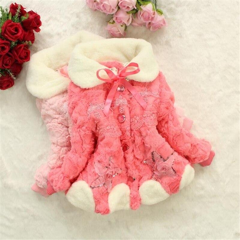 Baby winterjacken mit pelz