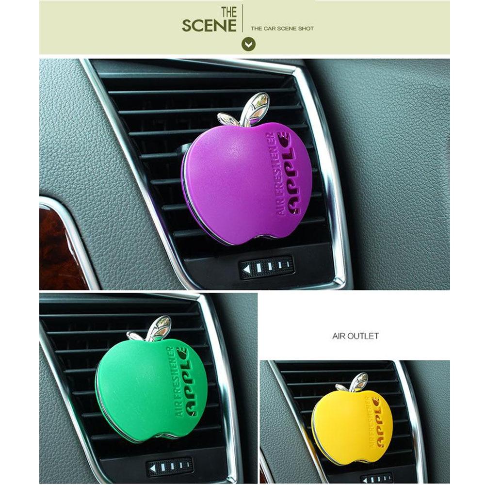Parfum автомобиля укладки аромат в автомобиль духи 100 оригинальный apple формы автомобильный освежитель очистителя для vw управление kia renault 1 шт
