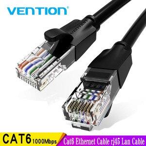 Image 1 - Vention Cat6 câble Ethernet rj45 Lan câble CAT 6 câble de raccordement réseau pour ordinateur portable routeur PC 0.5m 1.5m 2m 3m 5m RJ45 câble Ethernet