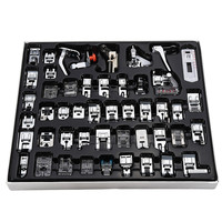48Pcs Sewing Machine Presser Foot Feet Tool Kit Set Multiple Application For Brother Singer Set Sewing Machine Tools Set