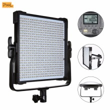 Pixel P45C LED Video Light Adjustable Color Temperature 3000K-8000K LCD Display for Canon Nikon Sony DSLR Camera DV Camcorder travor 336pcs bi color led video light 3200k 5500k ir for most model of canon nikon sony dslr camera and camcorder