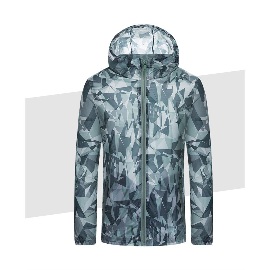Camouflage Breathable Windbreaker