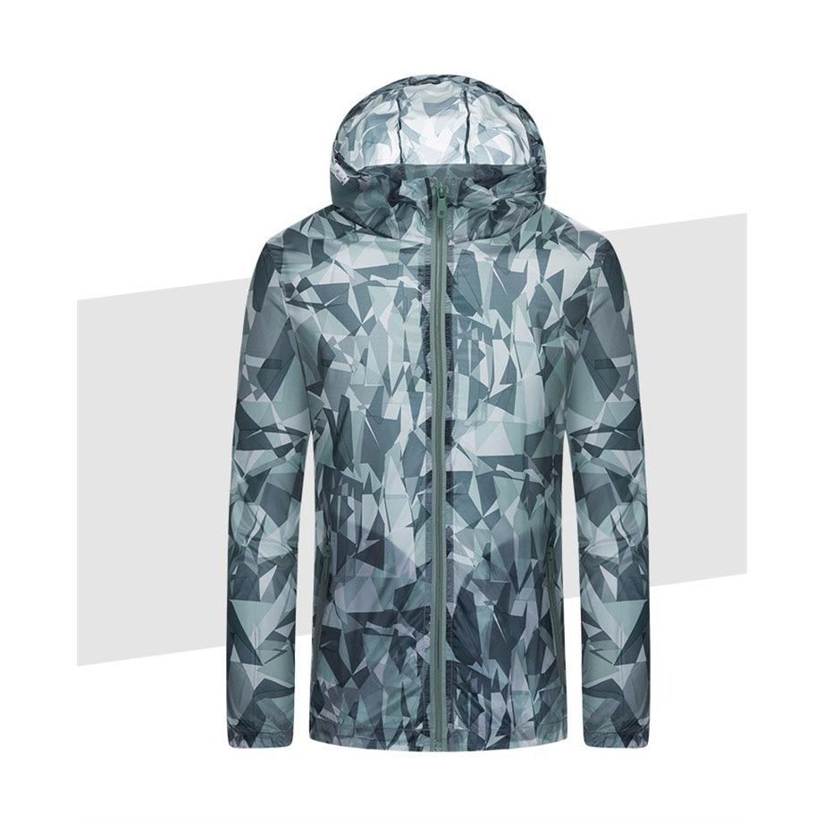 Camouflage Breathable Windbreaker