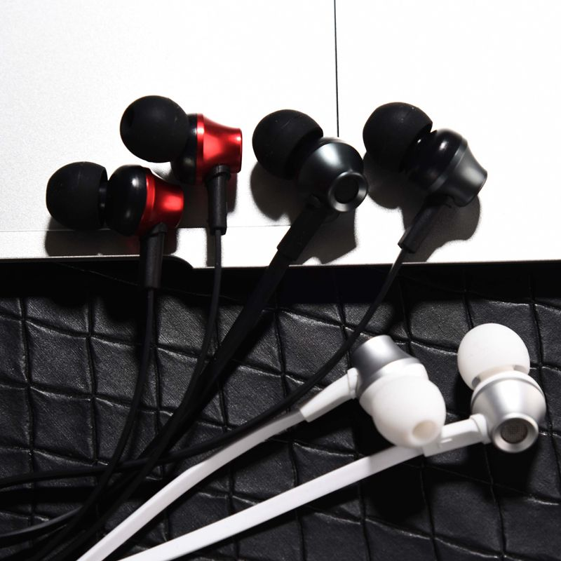suqy In Ear 3 5mm Plug Earphone For iPhone 6 6S 5 5S Headphones With Microphone
