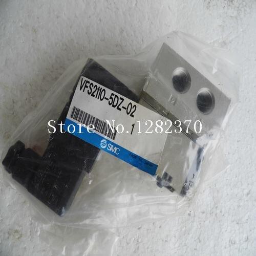 [SA] New Japan genuine original SMC solenoid valve VFS2110-5DZ-02 spot new original solenoid valve sy3120 5dz m5