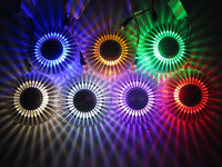 Led Luzes de Teto do corredor luzes do corredor luzes de parede criativos candeeiros de tecto decorativa lâmpada de modelagem 3 W