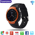 LEM3 Bluetooth Smart Watch Phone Support Nano SIM Card 512MB/ 4GB 3G Wifi Google Voice GPS for Android 5.1 Smartwatch