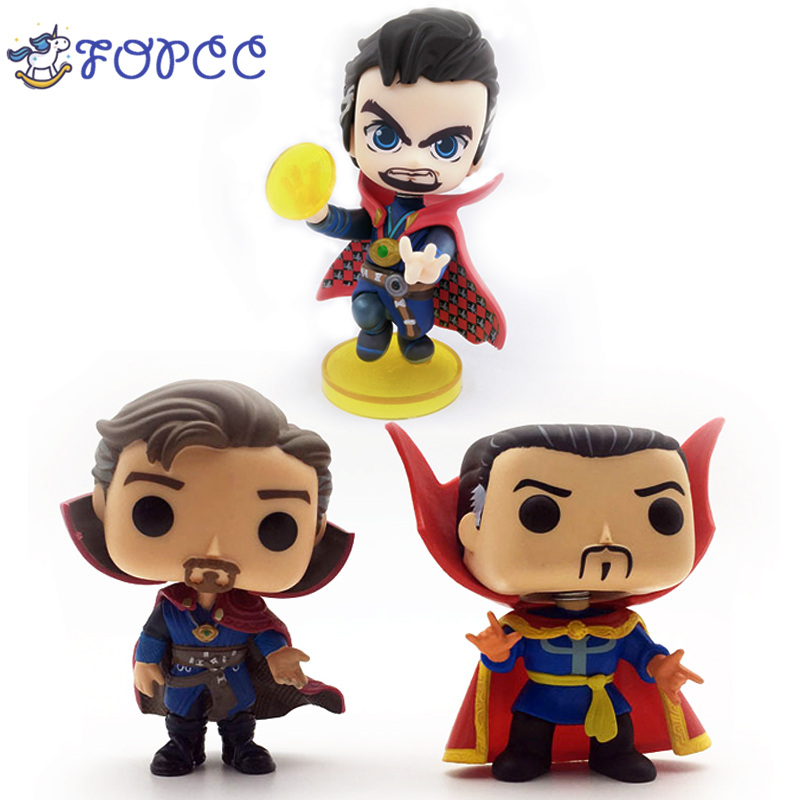 Super Hero pop playmobil cuadro de doctor strange POP Anime Action Figure PVC Model plastic hot toys collectibles for children