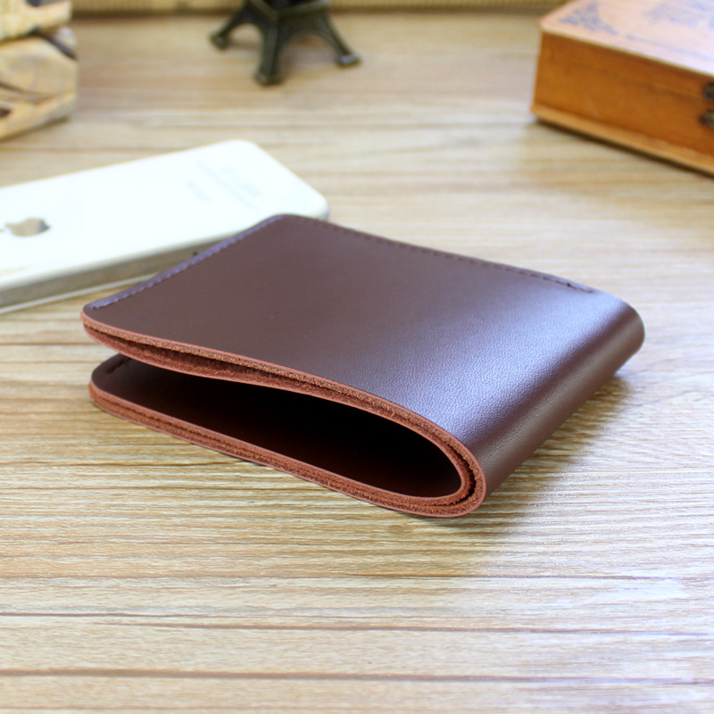 Unisex Genuine Leather Wallets Ultra-Thin Design  Women Short Clutch Bag Female Card Holder Coin Purse Men Wallet Carteras Mujer