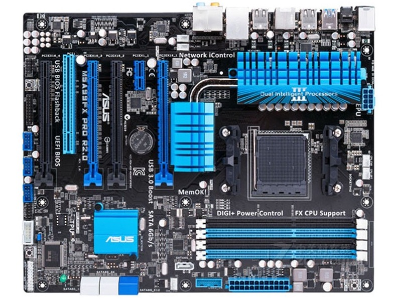 Free Shipping Original Motherboard For ASUS M5A99FX PRO R2.0 DDR3 Socket AM3+ 32GB 990FX Desktop Motherborad
