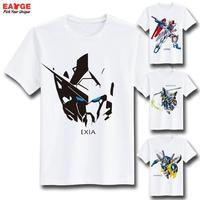 Cool Fashion Style Novelty Tshirt Gundam T Shirt Design Inspired By Game Super Robot Wars T