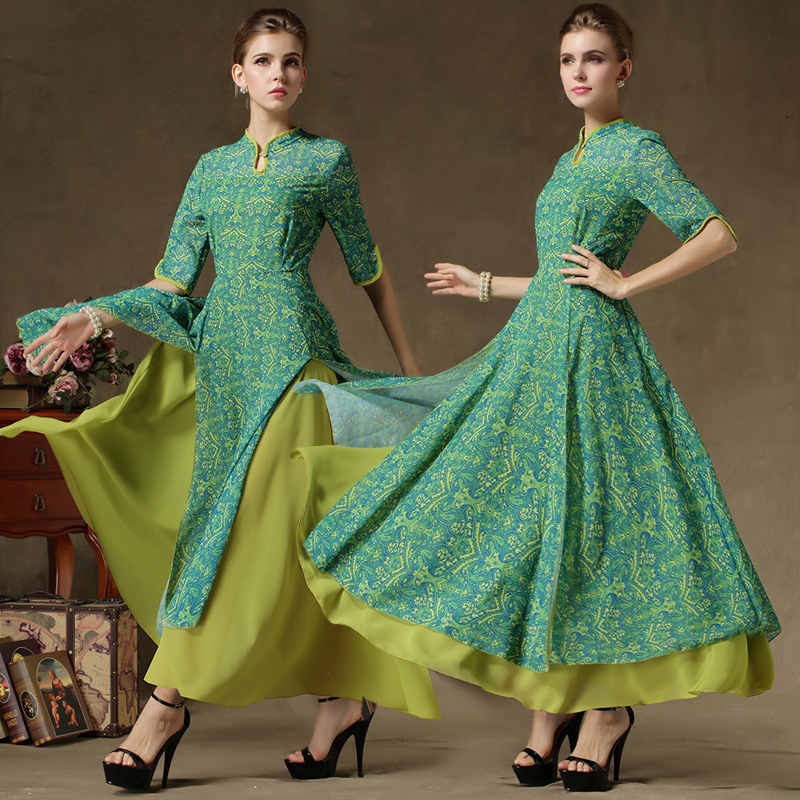 New Design false twinset muslim women dress Fashion elegant abaya ...