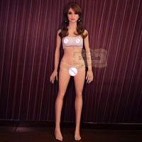 153cm Sex Doll with Smaller Breast Lifelike Real Full Size Vagina Ass Silicone Sex Doll Adult Toy Real Pussy Oral Doll for Man