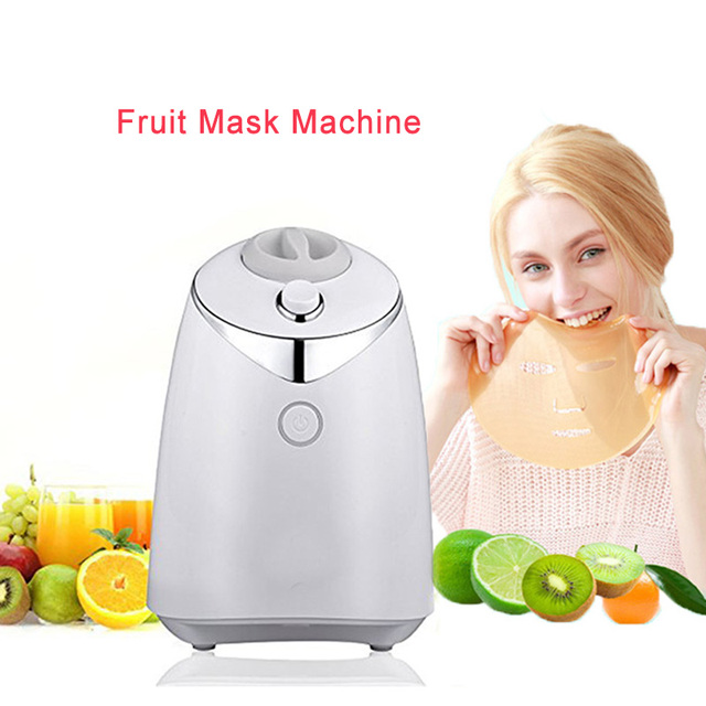 DHL Free! 100% Natural Fruit Vegetable DIY Facial Mask Machine Multifunction Health Beauty Tool Mask Maker Skin Body Care Device