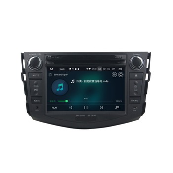 4 ГБ + 32 ГБ Octa Core Android 8,0 Car Audio DVD плеер для Toyota RAV4 2006 2007 2008 2009 2010 2011 2012 радио gps Bluetooth WI-FI