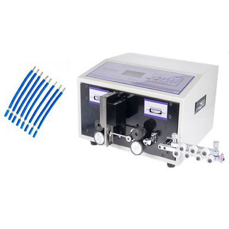 SWT508C automatic Computer wire Peeling Stripping Cutting Machine for computer strip wire machine 2.5mm2 цена
