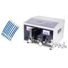 SWT508C автоматические компьютерные проводной щепально-драночный зачистки резки для компьютера полоса проволоки машина 2.5mm2